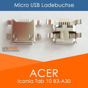Acer Iconia Tab 10 B3-A30 Micro USB Buchse Ladebuchse Strombuchse - Neu