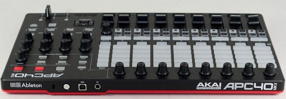 DAW controller, AKAI APC 40 Mk2