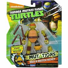 Tortugas Ninja Mutations Mix & Match - Mikey figura nueva