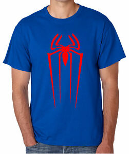 Spiderman-logo-avengers-marvel-comics-cadeau-t-shirt-gratuit-uk-envoi