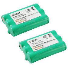 2 Cordless Phone Battery 350mAh NiCd for AT&T 1231 2231 2419 2420 E1215 E1225