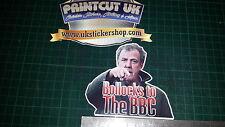 Jeremy Clarkson Rude BBC Full Colour sticker vinyl decal top gear stig Funny