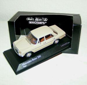 Mercedes-benz-200-sets-8-trazo-ocho-W-115-beige-Minichamps-1-43