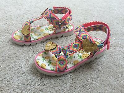 BARTEK Summer Breeze Toddler Girls Kids Shoes SandalsNatural Leather