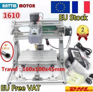 〠Stock EUã€' 3 Axe 1610 Mini CNC Laser Graver Machine PCB PVC on