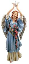Blue Angel Releasing Dove Garden Statue Indoor/Outdoor Decor