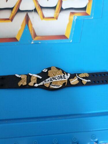 WWF WWE Elite Mattel Wrestling Figura titolo Cintura RARE HARDCORE Championship