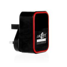 20W 5V 4A AMP Dual Twin 2 Port USB Charger UK Mains Wall Plug Adapter 3 Pin