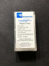 Brasseler Endosequence Rotary Files Size 25 Taper 06 31mm 4box