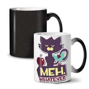 Meh Whatever Animal NEW Colour Changing Tea Coffee Mug 11 oz | Wellcoda