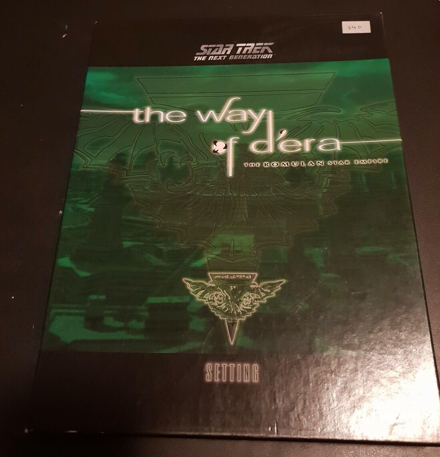 The Way of D'era  The Romulan Star Empire, Star Trek Next Gen, Last Unicorn, VGC