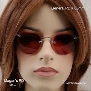 T-amp-P-Tried-amp-Proven-brand-Frameless-10K-BCG-True-Antique-Eyeglasses-amp-Case