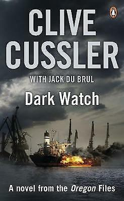 """""""AS NEW"""" Dark Watch: Oregon Files #3: A Novel from the Oregon Files, Cussler, Cl"""