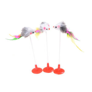 Colorful-Feather-Cat-Toy-False-Mouse-Bottom-Sucker-Cat-Teaser-Toys-20cm-Fad