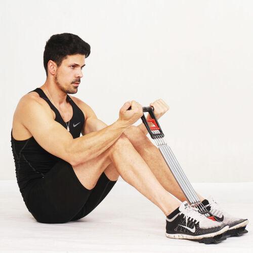 Home Fitness Equipment Spring Exerciser Chest Expander Pull up Bars USA Seller