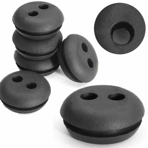 2 Hole Fuel GAS Tank Grommet Replace For Stihl Honda Trimmer Lawn Mower Blower