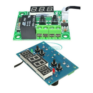 DC 12V W1401/W1209 Red Led Digital Thermostat Temperature Controller -9°C-110°C