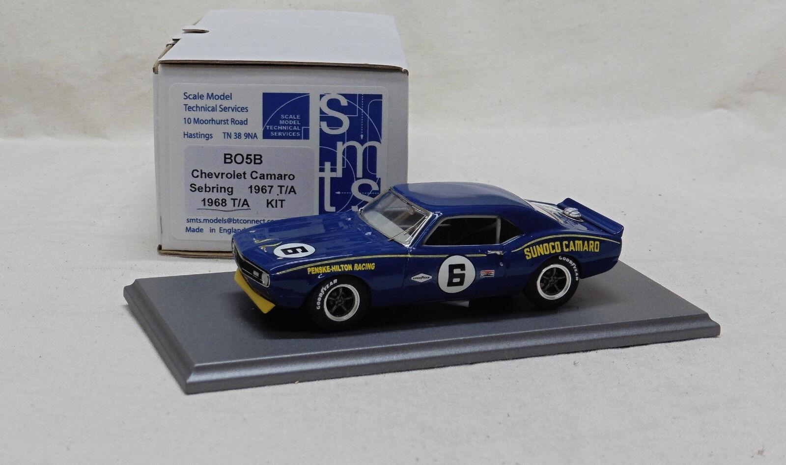1 43 BO5B Chevrolet Camaro Transam 1968 Mark Donohue por SMTS