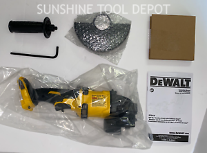 "Dewalt DCG418B FLEXVOLT 60V MAX Brushless 4.5"" - 6"" Cordless Grinder w/ Kickback"