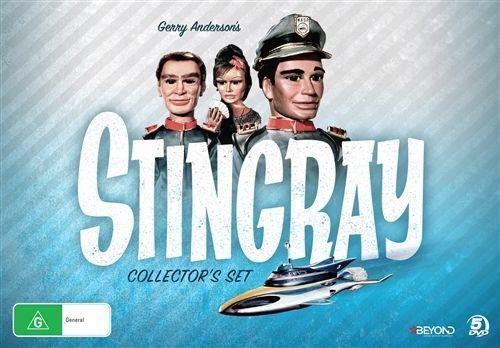 1 of 1 - Stingray (DVD, 2016, 5-Disc Set) New & Sealed