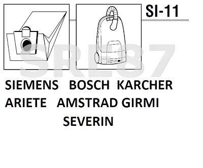 10x Sacchetto per Aspirapolvere Carta per Entronic VC 201//vc201
