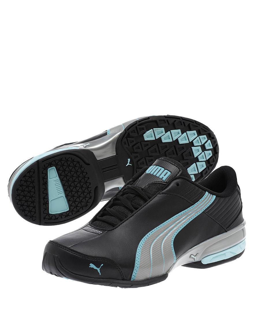 Puma super elevare scarpe da ginnastica nuove nero / / / argento / clearwater 4207c6