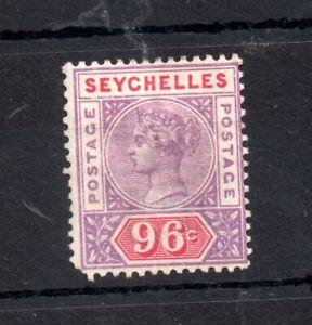 Seychelles-1890-QV-96c-mint-MH-SG8-WS19367