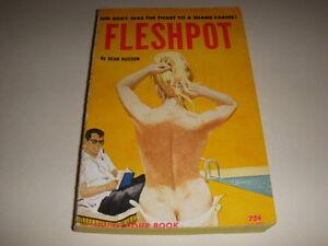 FLESHPOT-by-DEAN-HUDSON-Idle-Hour-Book-IH403-1964-GGA-Vintage-Paperback