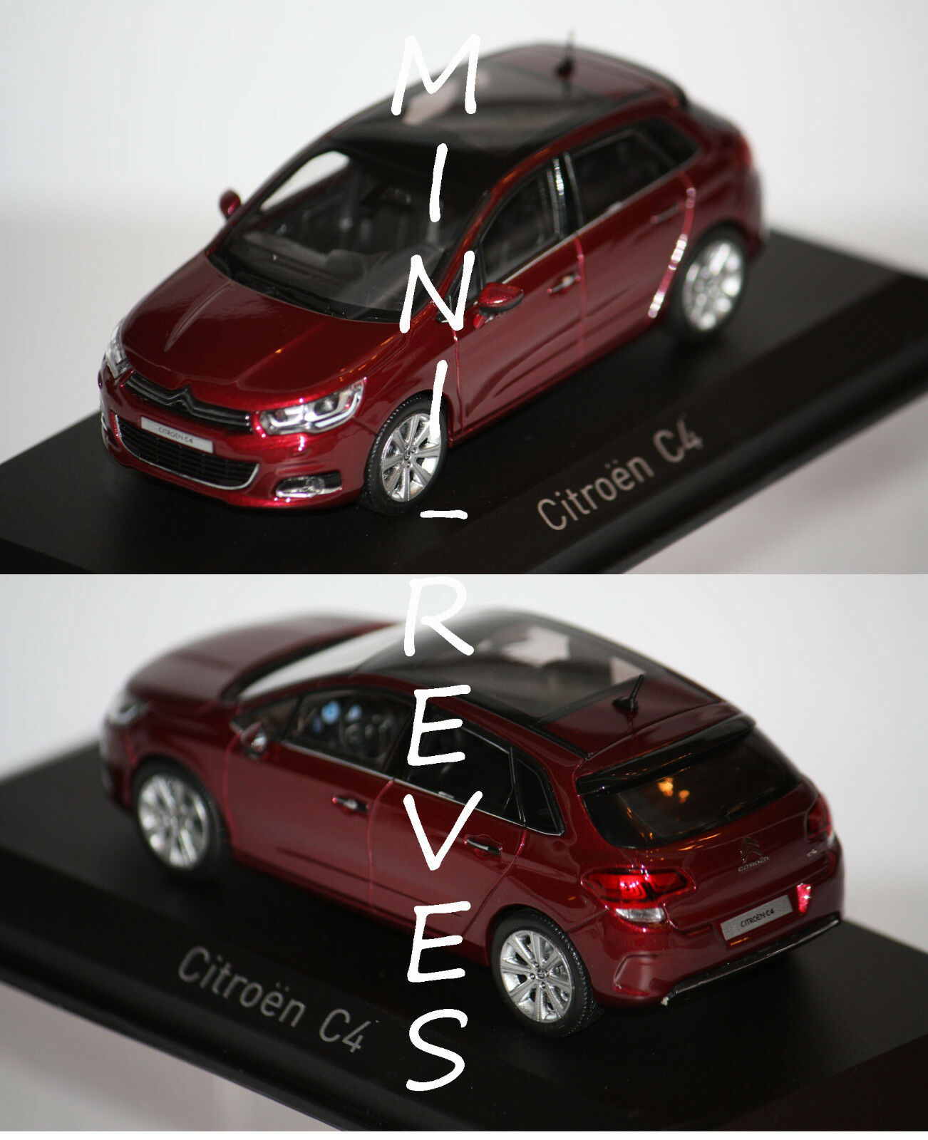 Norev Citroën C4 2015 Babylone Rouge 1 43 155444