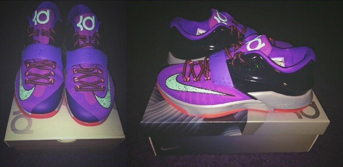 Nike zoom kd vii 11,5 (7) un fulmine 534dimensioni 11,5 vii mai indossato 892c2a