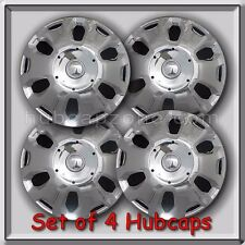 """Set of 4 15"""" 2010-2013 Ford Transit Connect Hubcaps, 15"""" Chrome Wheel Covers"""
