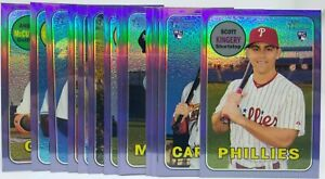 2018-TOPPS-HERITAGE-HIGH-NUMBERS-PURPLE-REFRACTOR-YOU-PICK-amp-COMPLETE-YOUR-SET