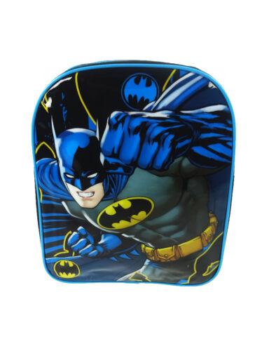 DC Comics Superhero Batman Backpack School Bag Rucksack Kids Child