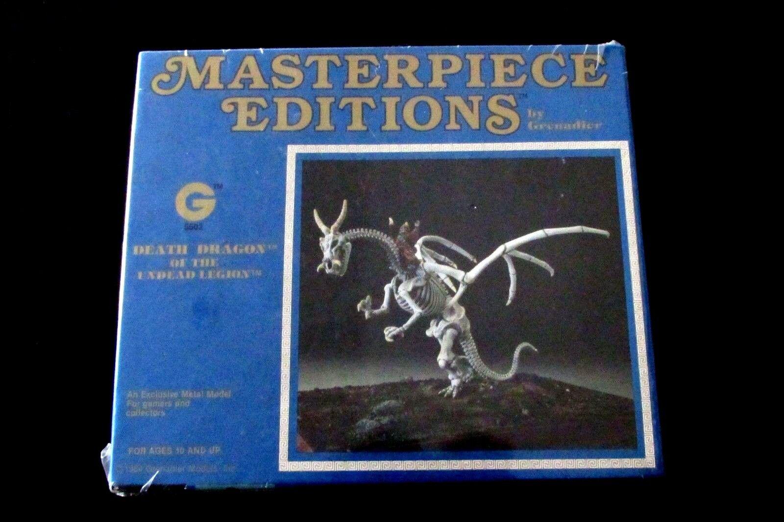 OOP Grenadier Models Masterpiece Editions Undead Legions Death Dragon BNIB