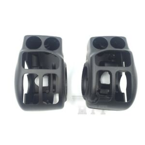 Black-Switch-Housing-Cover-For-2014-later-Harley-Touring-Trike-Ultra-Limited