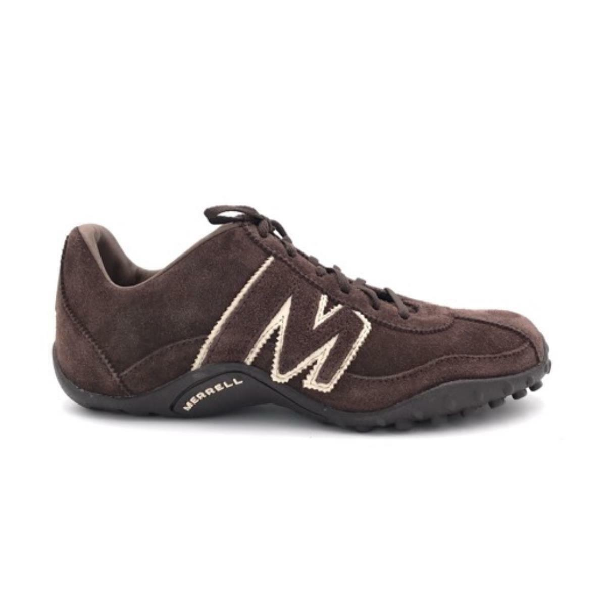 shoes Merrell J598659 SPRINT BLAST chocolate Man Sport Trekking Winter mode