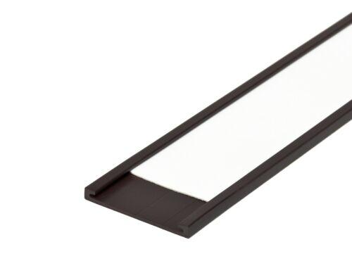 6,95€//1m Etiketten C Etikettenhalter magnetisch Profil 25 mm Breite inkl