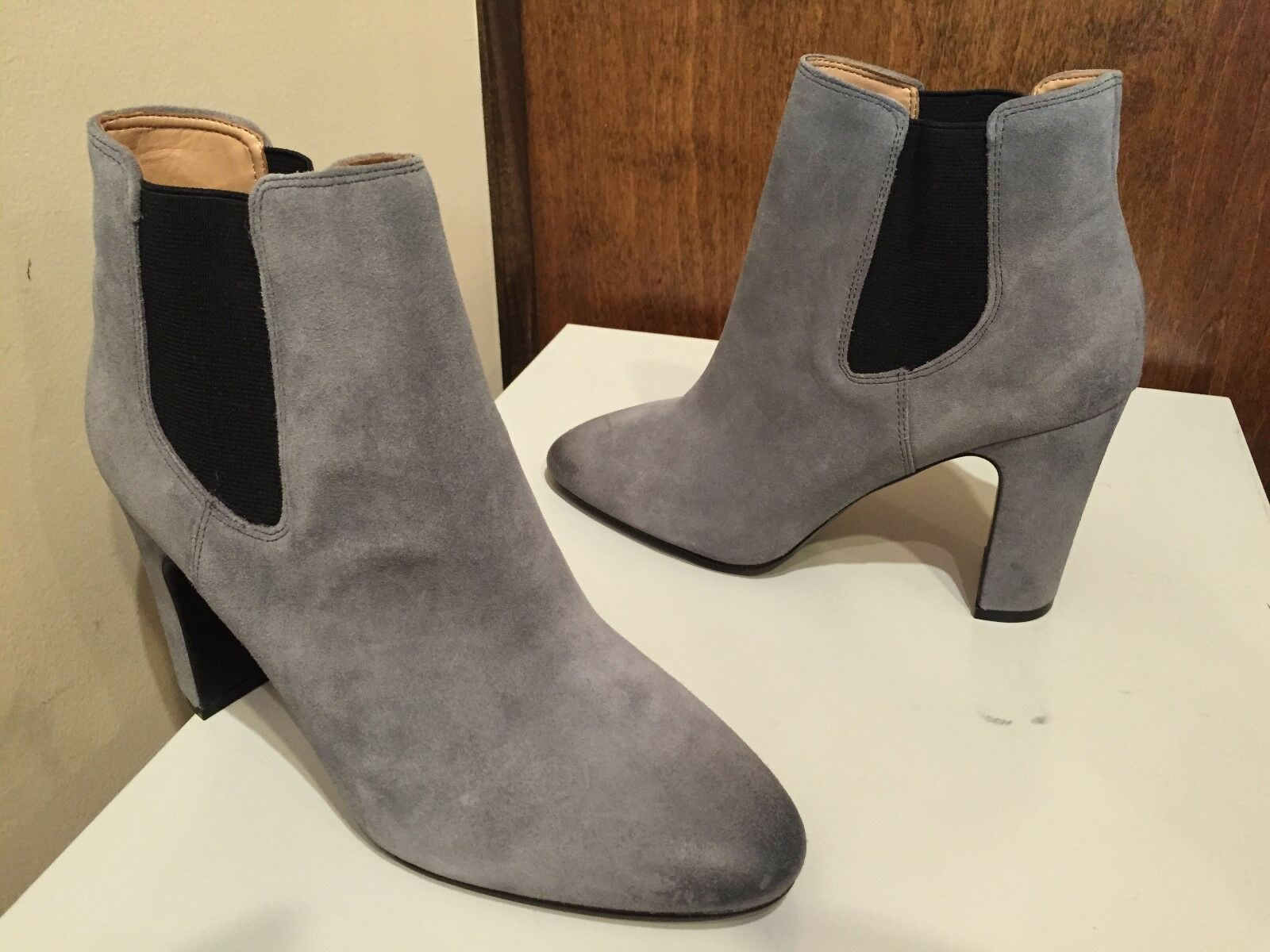 Banana Republic Belinda Chelsea botas, gris Urbano gris botas, Talla 8.5 M 87d6f2