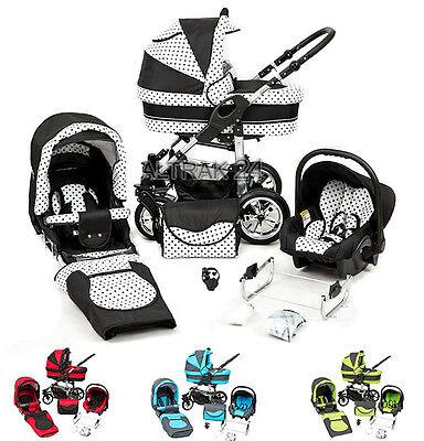 Kinderwagen Buggy Sportwagen Zagma X6 mit  Autositz/Babyschale Pram stroller