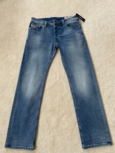 DIESEL-Men-Jeans-Larkee-Blue-RB038-Straight-31-32