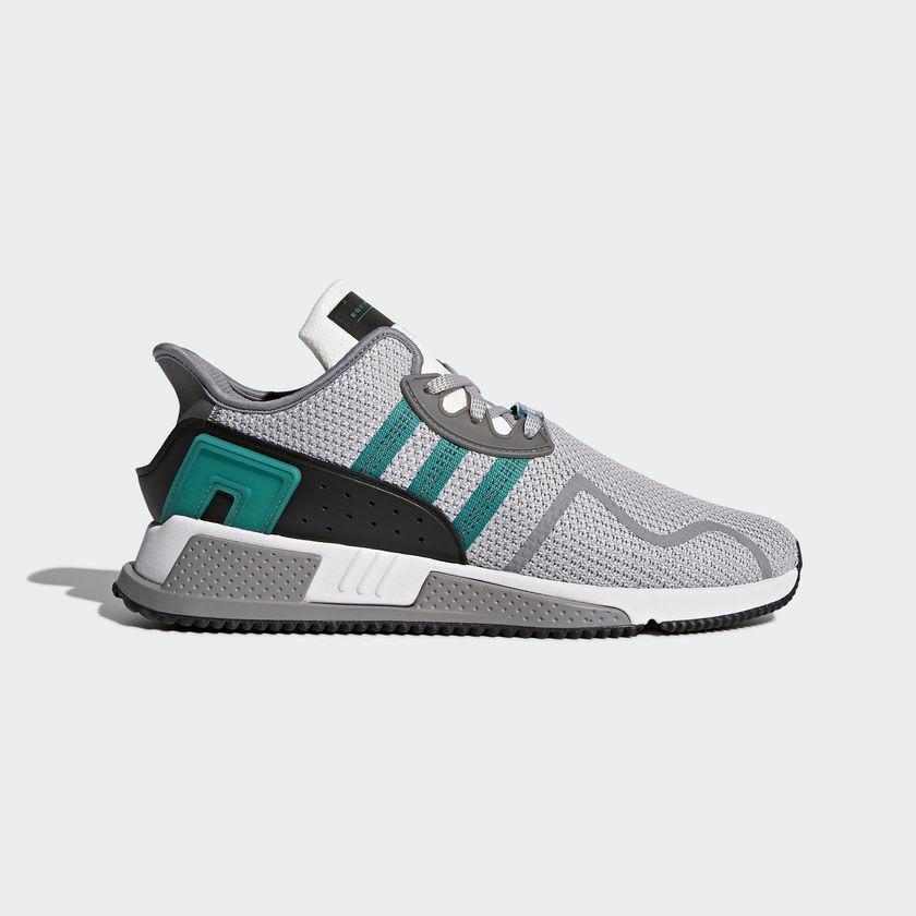 Para Hombre Adidas EQT Equipment Cojín ADV gris sub verde Correr blancoo AH2232