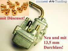 NEU Tuning Vergaser wie Bing 85 13,5 mm Hercules Optima Supra Sachs 12 Düsenset