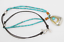 Silpada-925-Sterling-Silver-Turquoise-Glass-Beads-Leather-Brass-Necklace-N2106 thumbnail 2
