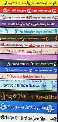 Personalised Ribbon Gift Wrap Any name/Wedding/Birthday/Present Wrapping/Gifts