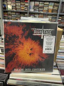 Nightfall LP Parade Into Centuries Transparent Red White Und Black Mixed Vinyl