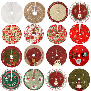 Jupes-de-sapin-de-Noel-Jupes-Stands-Tapis-de-sol-Accueil-Decorations-de-fete