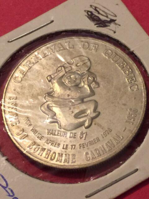 Token, 1978 Carnaval De Quebec $1 Coin Tokens Canada P13
