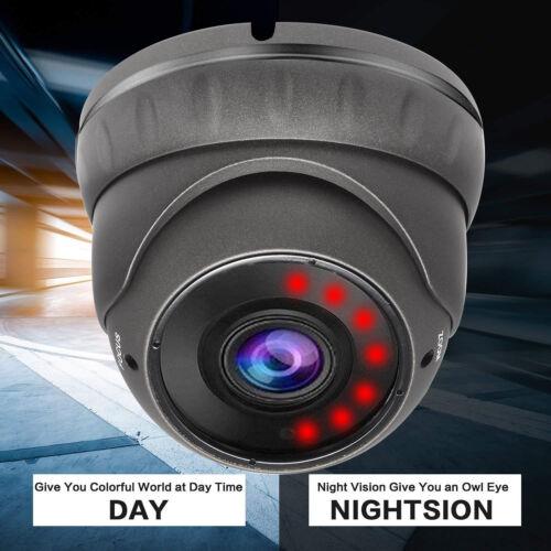 TVI//AHD//CVI//CVBS 2.8-12mm Varifocal 2MP 1080P HD Analog CCTV Dome Camera 4in1