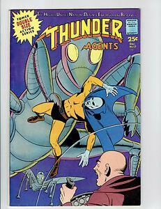 THUNDER-AGENTS-17-1967-VF-8-5-SILVER-AGE-BOOK-WALLY-WOOD-ART