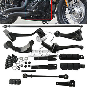 Forward Controls Foot Pegs Levers Linkages For Harley Sportster XL 883 1200 Iron